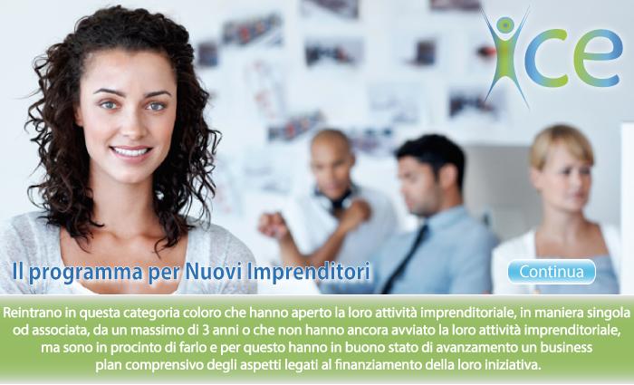 Il programma per Nuovi Imprenditori